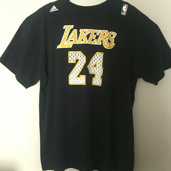 new arrivals a7d1f 8f334 adidas Go To Jersey T-Shirt Kobe Bryant 24